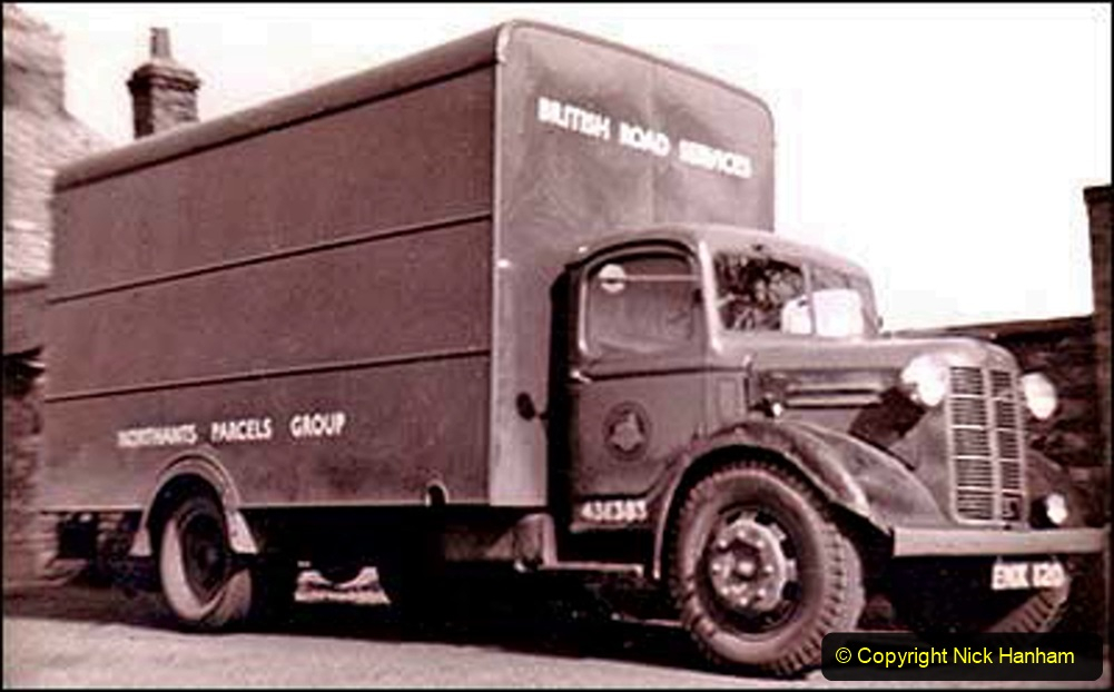 BRS vehicles 1950s and 1960s. (166) 166