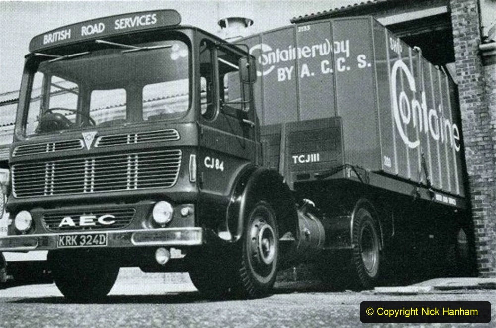 BRS vehicles 1950s and 1960s. (167) 167
