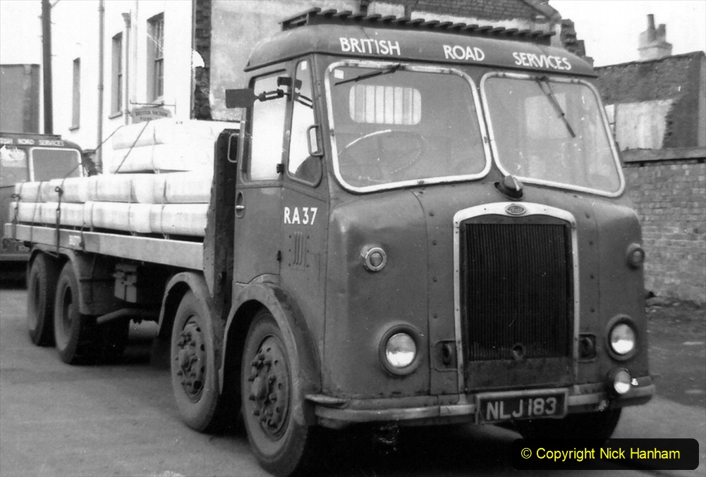 BRS vehicles 1950s and 1960s. (178) 178
