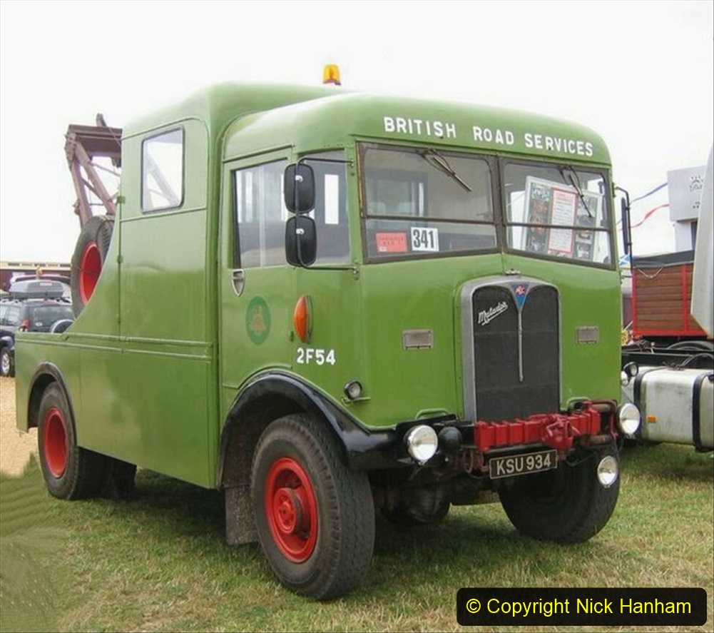 BRS vehicles 1950s and 1960s. (184) 184