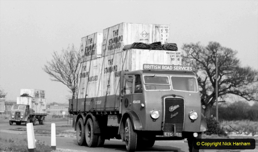 BRS vehicles 1950s and 1960s. (189) 189
