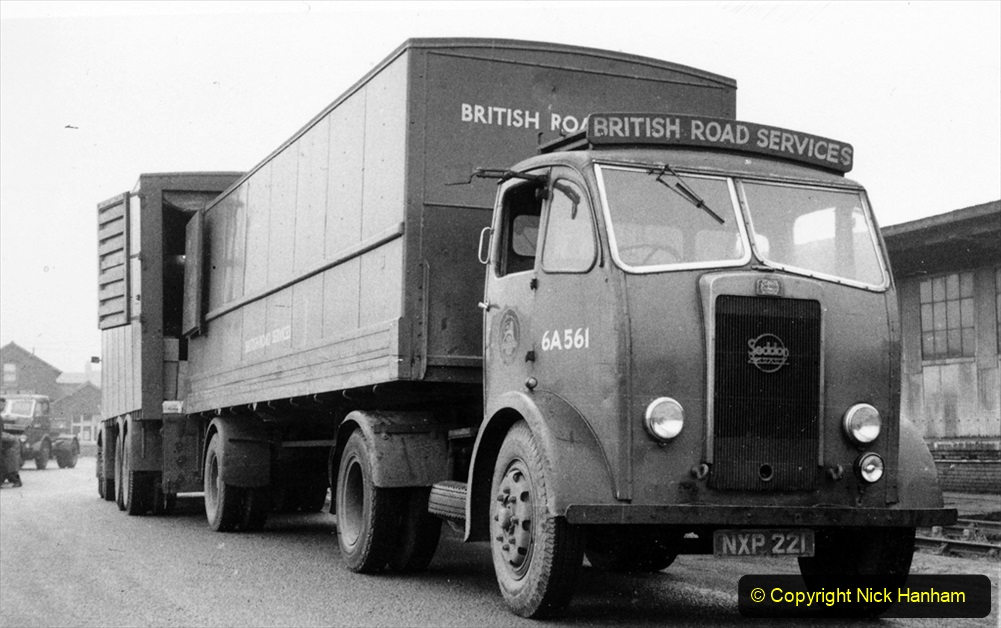 BRS vehicles 1950s and 1960s. (194) 194