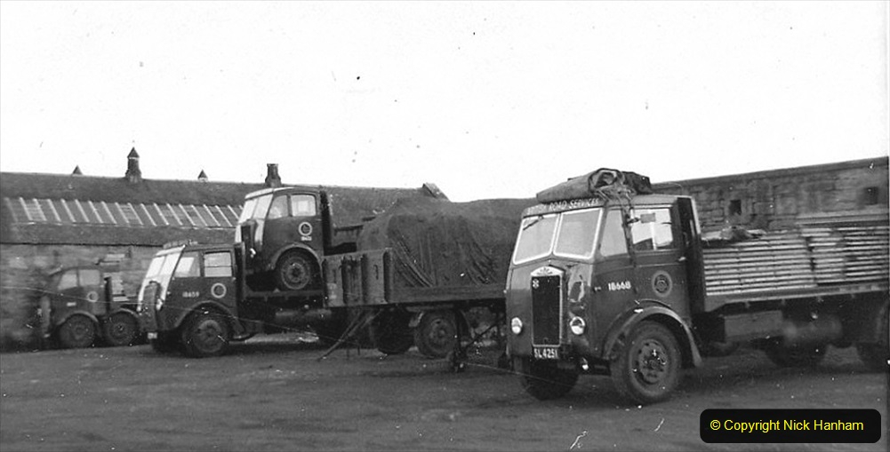 BRS vehicles 1950s and 1960s. (196) 196