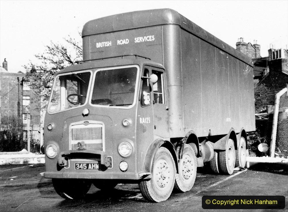 BRS vehicles 1950s and 1960s. (207) 207