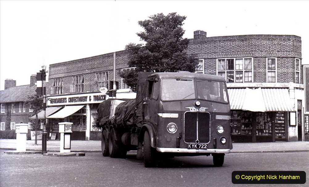 BRS vehicles 1950s and 1960s. (212) 212