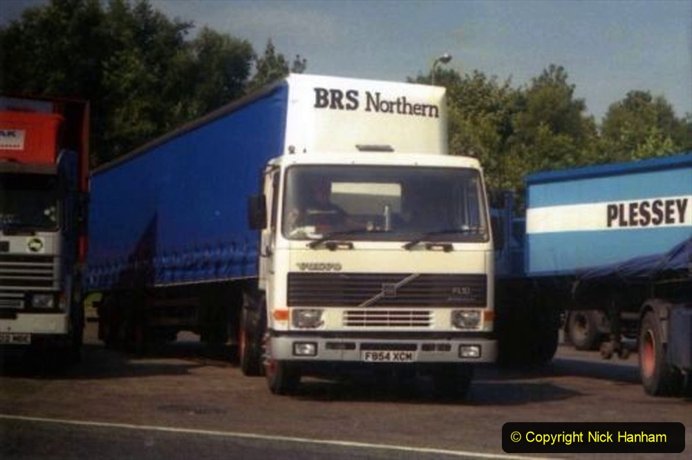 BRS vehicles 1950s and 1960s. (217) 217