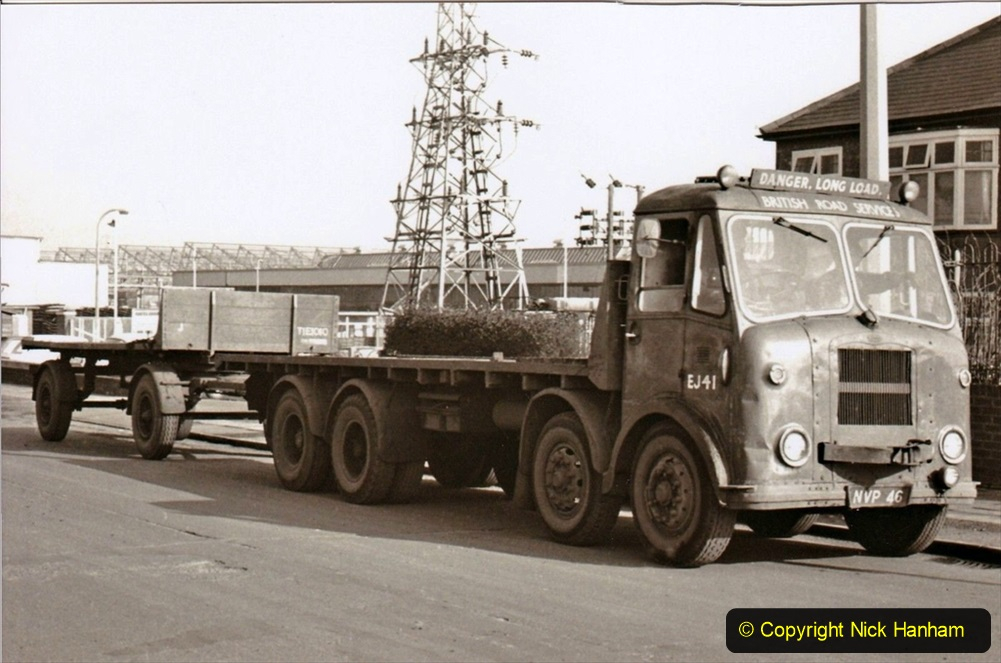 BRS vehicles 1950s and 1960s. (221) 221
