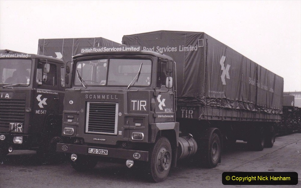 BRS vehicles 1950s and 1960s. (226) 226