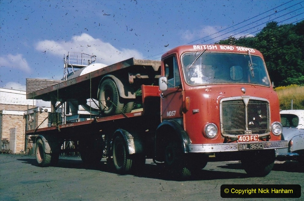 BRS vehicles 1950s and 1960s. (232) 232