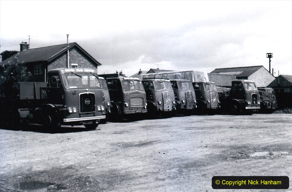 BRS vehicles 1950s and 1960s. (233) 233