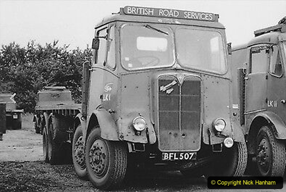 BRS vehicles 1950s and 1960s. (236) 236