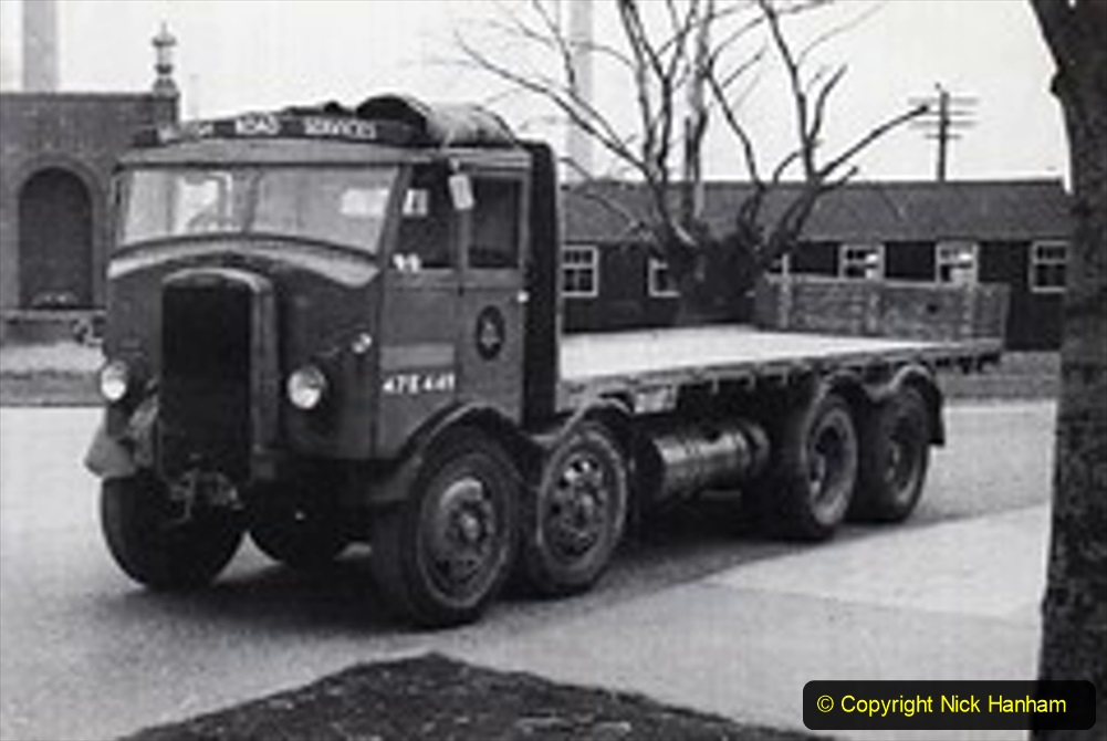 BRS vehicles 1950s and 1960s. (47) 047