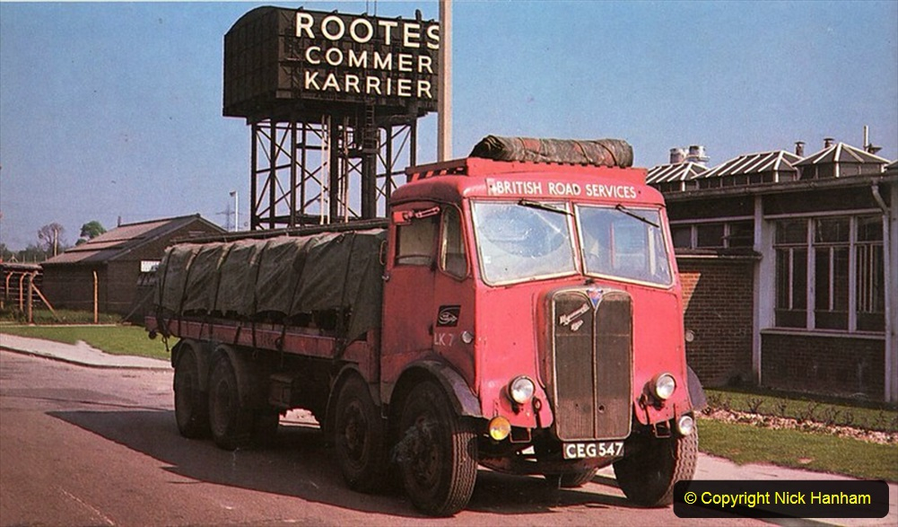 BRS vehicles 1950s and 1960s. (59) 059