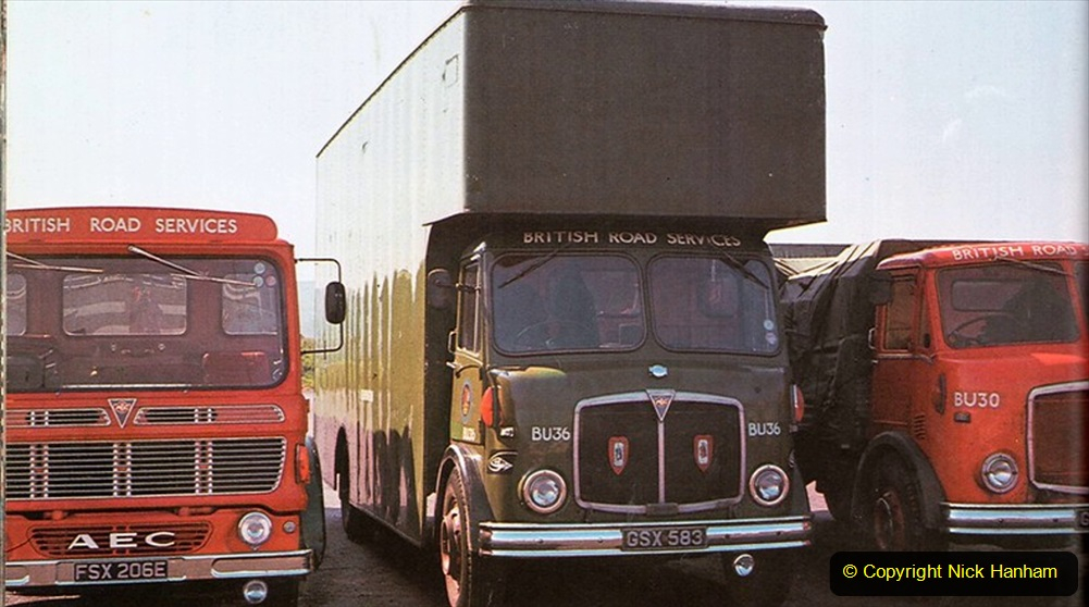 BRS vehicles 1950s and 1960s. (64) 064