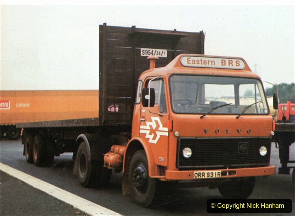 BRS vehicles 1950s and 1960s. (70) 070