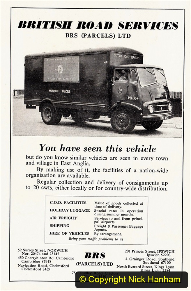 BRS vehicles 1950s and 1960s. (88) 088