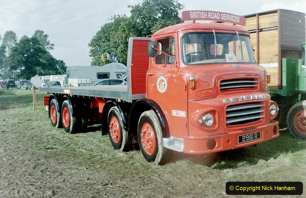 BRS vehicles 1950s and 1960s. (89) 089