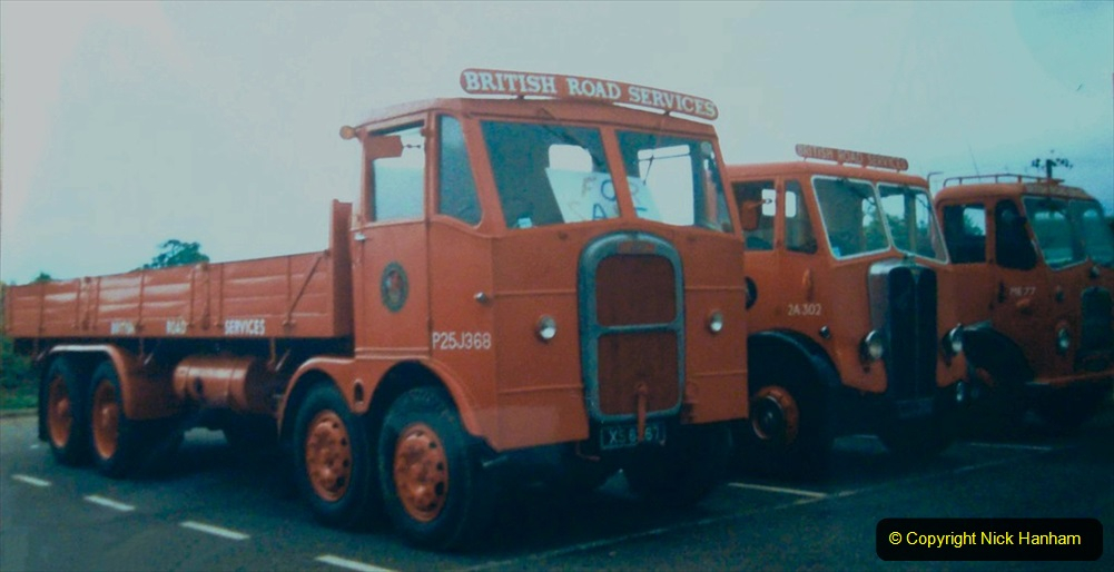 BRS vehicles 1950s and 1960s. (99) 099