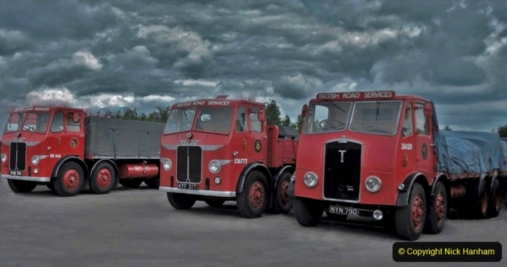 BRS vehicles 1950s and 1960s. (111) 111