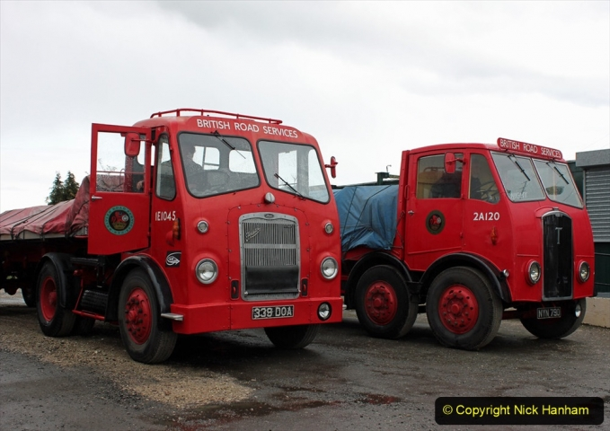 BRS vehicles 1950s and 1960s. (115) 115