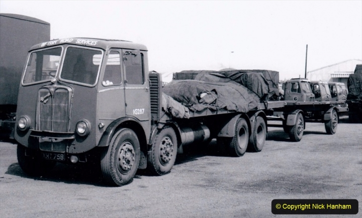 BRS vehicles 1950s and 1960s. (142) 142