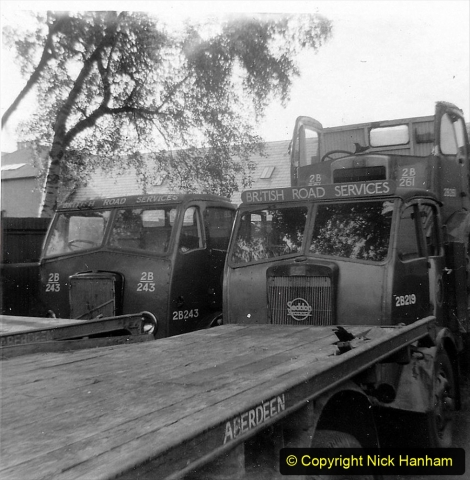 BRS vehicles 1950s and 1960s. (161) 161