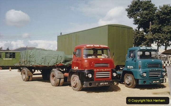 BRS vehicles 1950s and 1960s. (185) 185