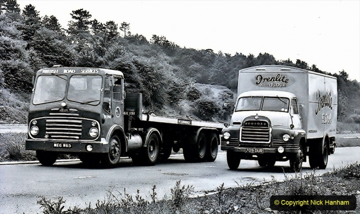 BRS vehicles 1950s and 1960s. (187) 187