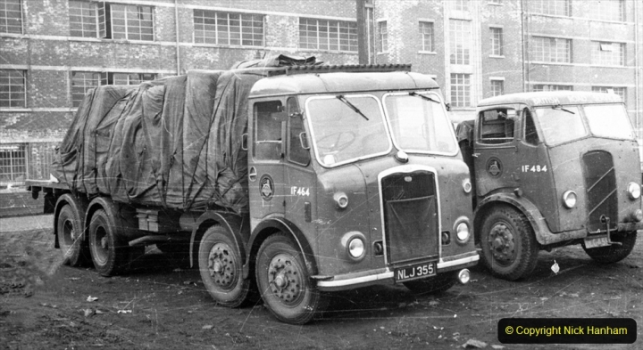 BRS vehicles 1950s and 1960s. (192) 192