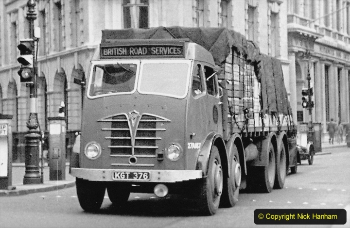 BRS vehicles 1950s and 1960s. (222) 222