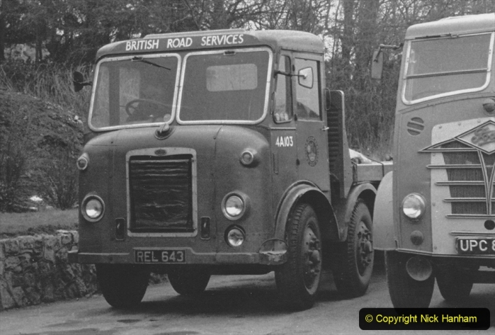 BRS vehicles 1950s and 1960s. (224) 224