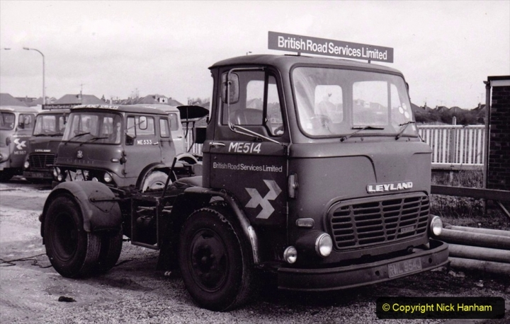 BRS vehicles 1950s and 1960s. (227) 227