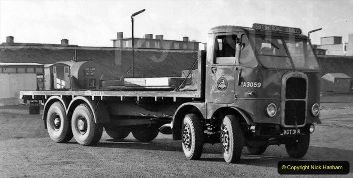 BRS vehicles 1950s and 1960s. (230) 230