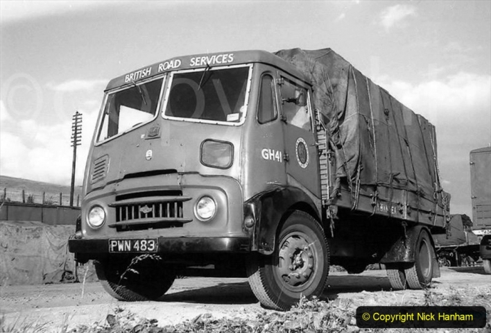 BRS vehicles 1950s and 1960s. (231) 231