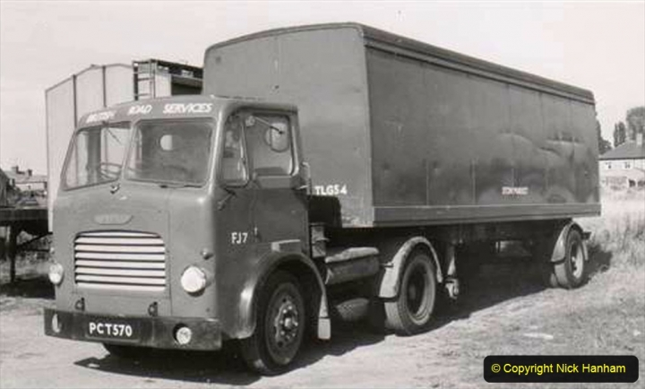 BRS vehicles 1950s and 1960s. (235) 235