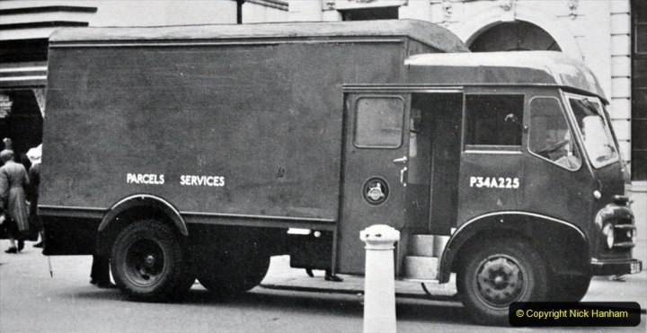 BRS vehicles 1950s and 1960s. (40) 040