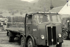 BRS Maudslay Lorries 1950s and 1960s