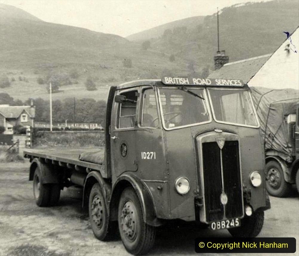 BRS Maudslay Lorries 1950s and 1960s