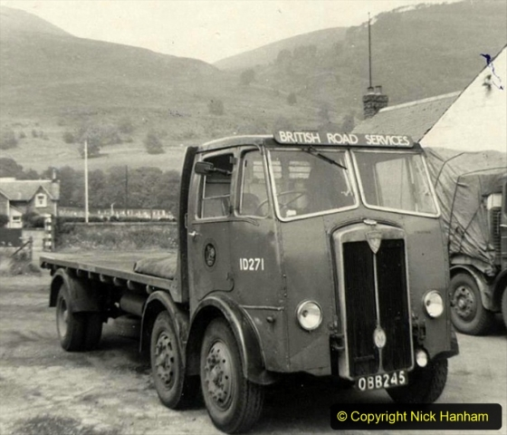 BRS Maudslay Lorries 1950s & 1960s. (1) 001