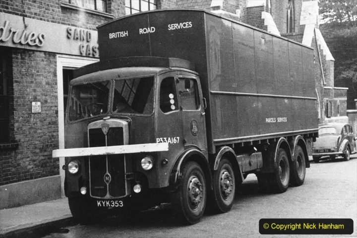 BRS Maudslay Lorries 1950s & 1960s. (12) 001