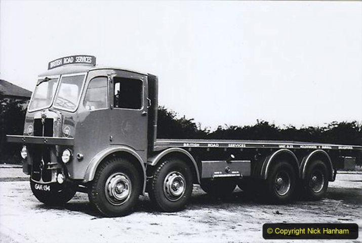BRS Maudslay Lorries 1950s & 1960s. (13) 001