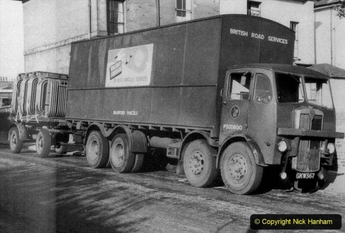 BRS Maudslay Lorries 1950s & 1960s. (15) 001