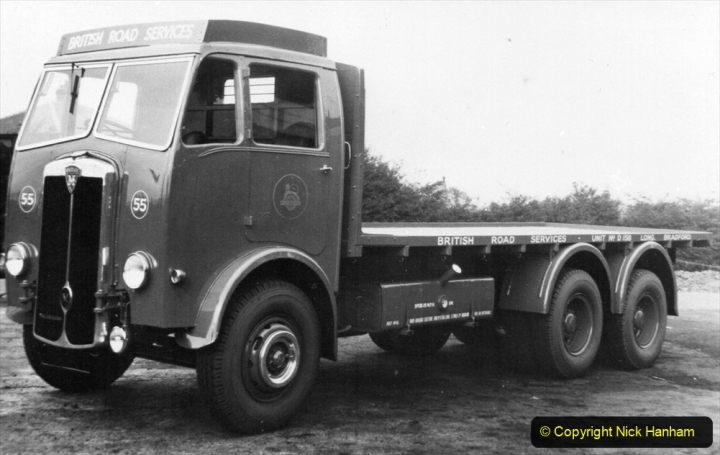BRS Maudslay Lorries 1950s & 1960s. (18) 001