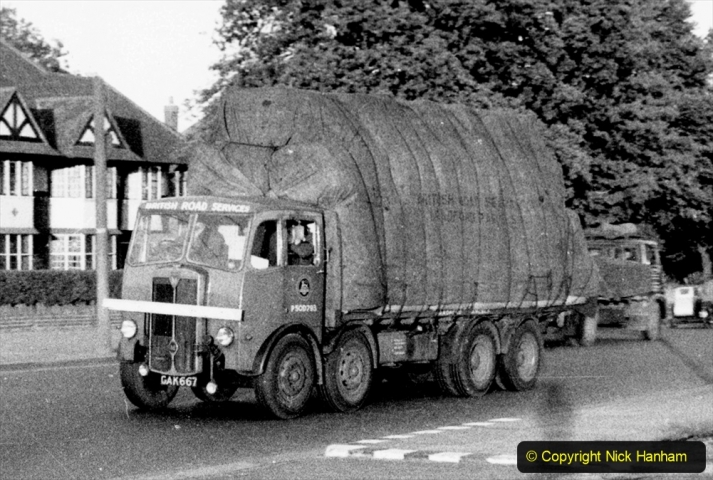 BRS Maudslay Lorries 1950s & 1960s. (19) 001