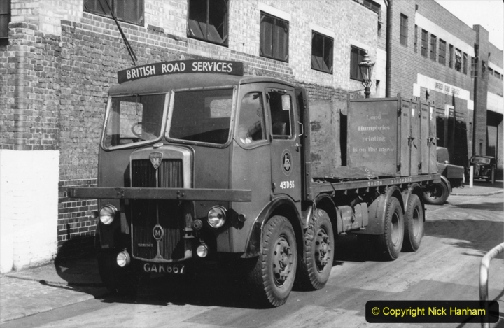 BRS Maudslay Lorries 1950s & 1960s. (2) 001