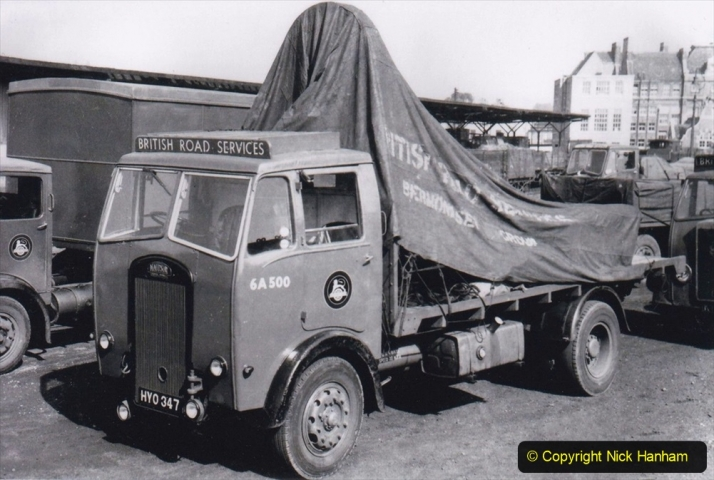 BRS Maudslay Lorries 1950s & 1960s. (21) 001