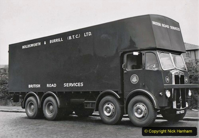 BRS Maudslay Lorries 1950s & 1960s. (22) 001