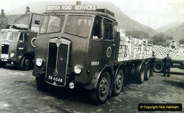 BRS Maudslay Lorries 1950s & 1960s. (23) 001