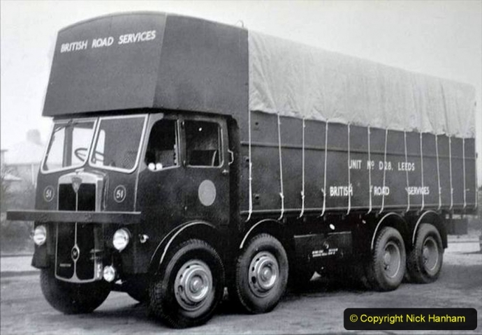 BRS Maudslay Lorries 1950s & 1960s. (24) 001