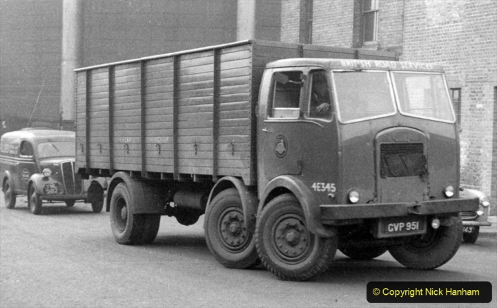 BRS Maudslay Lorries 1950s & 1960s. (3) 001